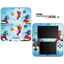 Super Mario Bros for New Nintendo 3DS XL Skin Decal Cover