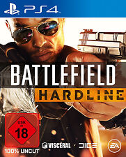 Battlefield Hardline Day One Edition PS4 Neu