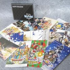 JUMP FESTA 2010 Postcard Set Art Illustraion Kingdom Hearts FF Book Ltd