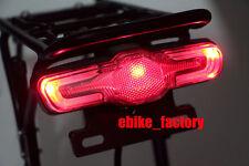 24V 36V 48V 60V LED Rücklicht ElektroFahrrad Ebike Pedelec Rückleuchte Blinker