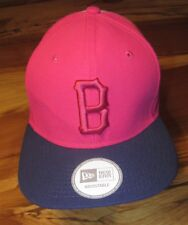 MLB Boston Red Sox Womens Baseball Cap or Hat, Pink, New Era, One Size, NEW