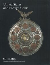 Sotheby 's United States and Foreign COINS Auction Catalog NYC. December 16, 1996