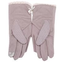 Gloves Short Sun Summer Uv Sunscreen Female Fashion Women Lace Touch Y