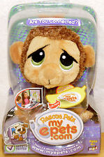 Rescue Pets Bananas the Monkey Plush MyEpet My Epets NEW retired
