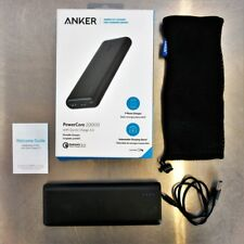 Anker PowerCore 20000mAh Power Pack Portable Charger Quick Charge 3.0 A1272 Used