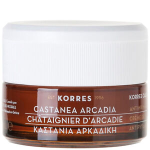 KORRES Castanea Arcadia Wrinkle Rewind Day Cream New
