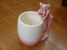 Pink Panther Figure MUG Toothbrush Holder Pen Pot 1981 Royal Orleans