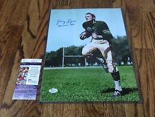 Johnny Lujack- Signed 11x14 Photograph- Notre Dame- Heisman- JSA