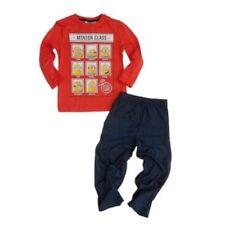 Ensemble pyjama rouge 4 ans pour garçon de 2 à 16 ans