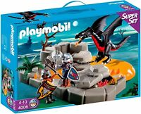 Playmobil 4006 - Super Set Rocca del drago ►NEW◄ PERFECT NEVER REMOVED MISB