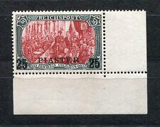 GERMANY 1900 POST OFFICES IN TURKEY SCOTT 24B PERFECT MNH CORNER MARGIN COPY