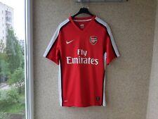 Arsenal Home football shirt 2008/2010 Jersey Nike Soccer England Camiseta Red