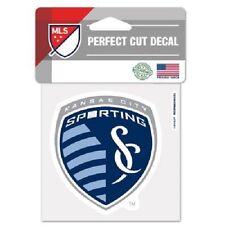 "Sporting Kansas City FC Team Logo Truck Car Window Die Cut Decal Color 4"" x 4"""