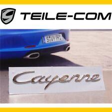 """-3% NEU+ORIG.Porsche Cayenne E2/958 Schriftzug/Emblem/Logo """"Cayenne"""" verchrommt"""