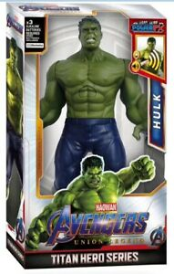 Talking Hulk Marvel Avengers Infinity Endgame Power FX Sound Action Figures Toy