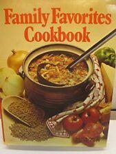 Family Favourites Cookbook-Linda Newton