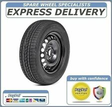 """NISSAN NOTE 2013-2018 15"""" FULL SIZE STEEL SPARE WHEEL TYRE 185/65R15"""