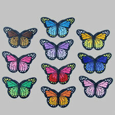 Butterfly 10xEmbroidered Applique Embroidery Badge Beauty Sew Iron On Patch Tips