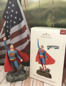 Hallmark DC Comics Magic Ornament NEW Christopher Reeve as Superman Movie Theme