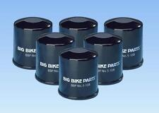 6 Big Bike Parts Oil Filters for Honda Goldwing GL1800 2001+