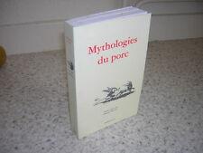 1999.mythologies du porc.sanglier.moyen age antiquité