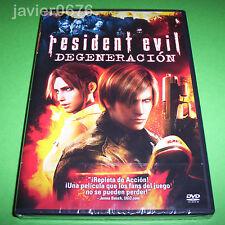 RESIDENT EVIL DEGENERACION DVD NUEVO Y PRECINTADO