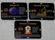 3-Card Lot With All Illuminati Cards BERMUDA TRIANGLE New World Order *INWO