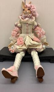 "Vintage Katherine's Collection Wayne Kleski Bunny Rabbit Doll 32"""