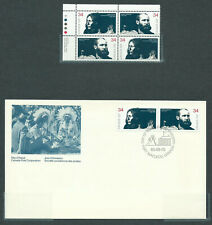 New ListingCanada # 1108-1109 Ul. Pb. Mnh + Fdc - Peacemakers of the Prairies