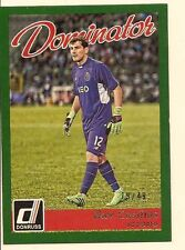 IKER CASILLAS 2016 PANINI DONRUSS SOCCER DOMINATOR CANVAS PARALLEL /49
