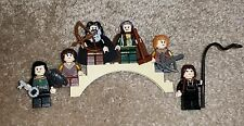 LOTR Hobbit Lord of the Rings Custom 100% LEGO Lot Minifigures w/ Accessories