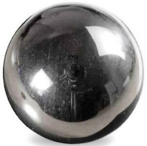 Highly Polished 45mm Crystal Spheres, Emits Natural Energy - Hematite