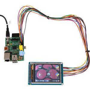 """3.2 """" TFT Touchdisplay mit LED Hintergrundbeleuchtung für Raspberry 320*240"""