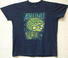 Amumu League of legends Gaming Funko Pop Crying Mummy T Shirt Large Blue