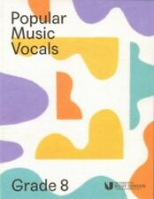 Popular Music Vocals Grade 8 London College of Music Singing Book & Online