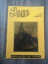 Flaming Shroud - MARILLION & FISH Fanzine Circa 1980s