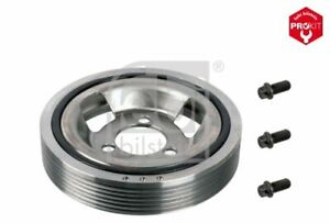 Febi Crankshaft Pulley 33617 fits Peugeot 207 CC WD_ 1.6 16V 1.6 16V Turbo