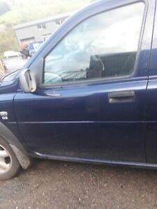 2002 Land Rover Freelander td4 front passenger side window
