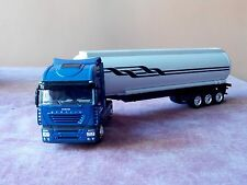 Camion IVECO STRALIS 540 TRASPORTO PETROLIO  1:43 Model NEW RAY