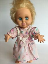 Vintage Galoob Baby Face So Innocent Cynthia Doll # 7 Blond Hair