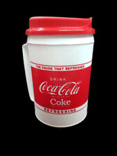 Coca-Cola Travel Mug Can Holder With Handle Insulated The Pause That Refreshes