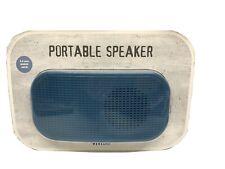 Vivitar Portable Speaker 3.5 mm Audio Jack Mini Electronics Blue