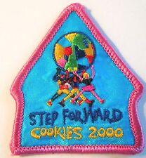 "Girl Scout Cookie Sale Fun Patch ""'Step Forward"" circa 2000"