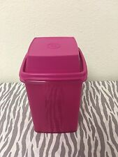 Tupperware Pick-A-Deli Pickle Olive Pepper Keeper Sheer Pink 8 Cups New
