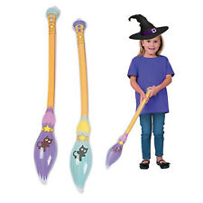 Inflatable Broomstick | Witch Party Favour | Wizard Party Favour | Kids Party