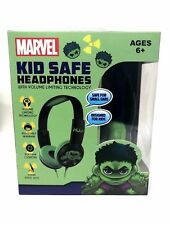 Marvel The Incredible Hulk Kid Safe Volume Limiting Headphones Over the Ear w