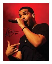 DRAKE SIGNED AUTOGRAPHED A4 PP PHOTO POSTER