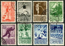 Russia 1938 SPORTS Set Complete Scott # 698 - 705 CTO Cancelled