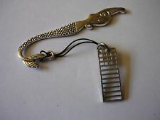 w19 Mackintosh Chair Back Made From Fine English Pewter On A MERMAID Bookmark
