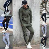 New BBH Mens Gym Bottoms Slim Fit Joggers Casual Fleece Jogging Sweatpants